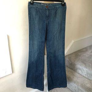 Levi's Single Pocket Wide Leg Jeans EUC